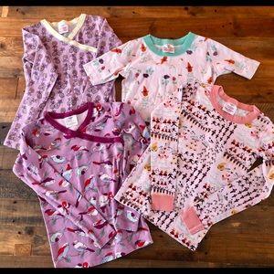 Bundle of Girls Hanna Andersson Pajama Tops